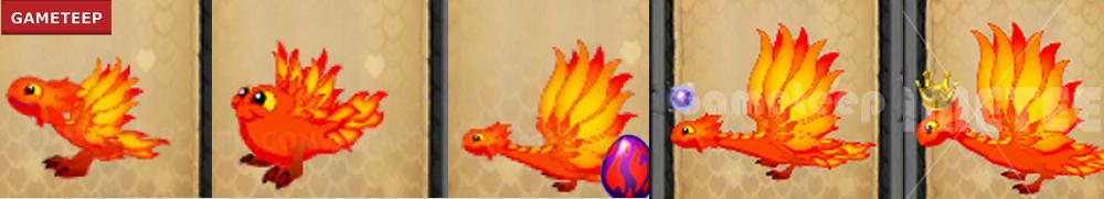 DragonVale Blazing Dragon