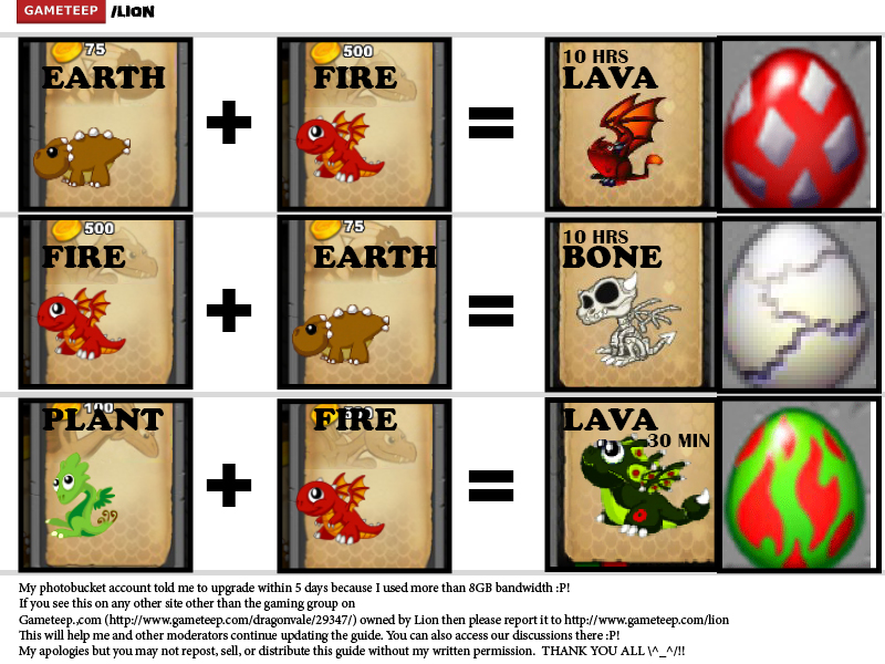 Efficiency dragonvale breeding guide part 1 | gameteep.
