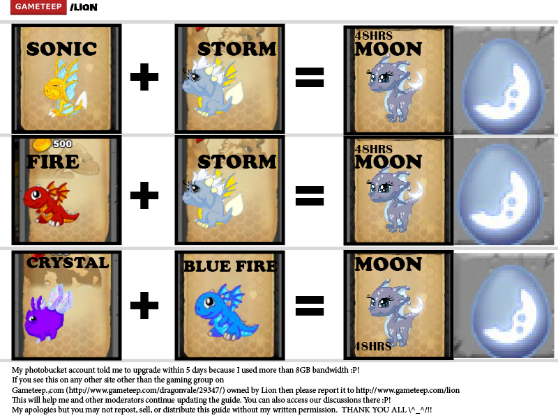 DragonVale Breeding Guide Page - 12