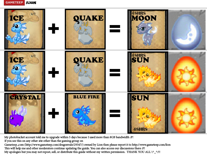 DragonVale Breeding Guide Page - 13