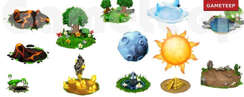 DragonVale Habitats