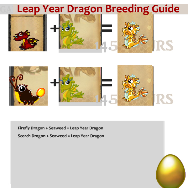 Leap Year Dragon Breeding Guide