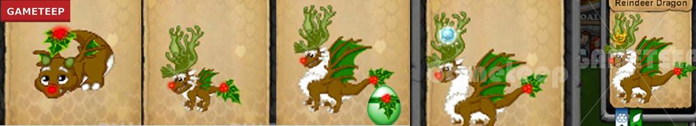 DragonVale Reindeer Dragon