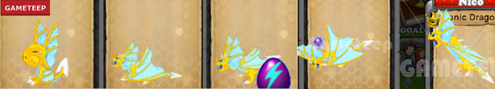 DragonVale Sonic Dragon