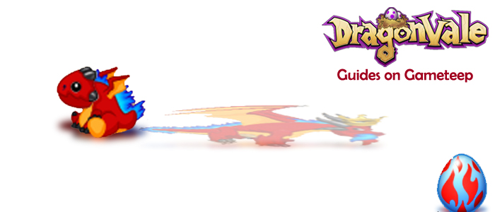 Gameteep DragonVale Frostfire Dragon Banner