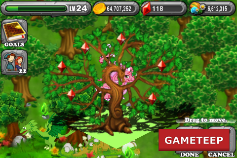 DragonVale Dragonsai Gem Tree