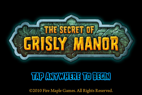 The secret of Grisly Manor Guide