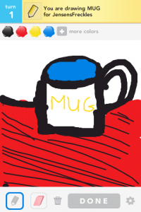 Draw Something Drawings Mug