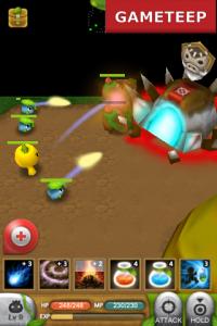 Plants War gameplay battle 2