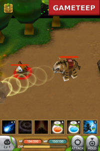 Plants War gameplay battle