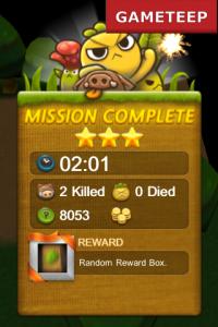 Plants War gameplay screen