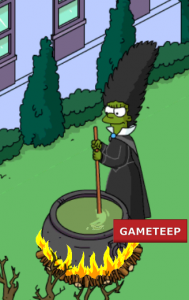 Tapped Out - Marge Simpson Halloween