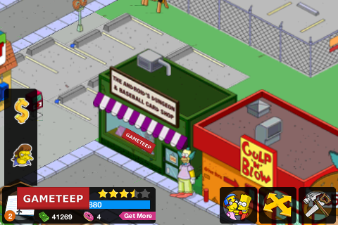 The Simpsons Tapped Out Andriods Dungeon
