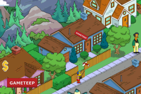 The Simpsons: Tapped Out – Blue House