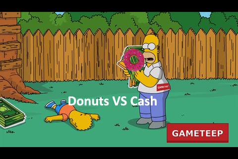 The Simpsons Tapped Out Cash and Donuts