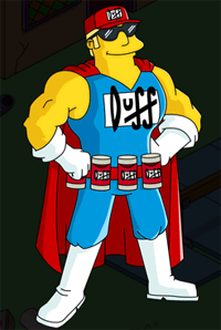 The Simpsons Tapped Out - Duffman