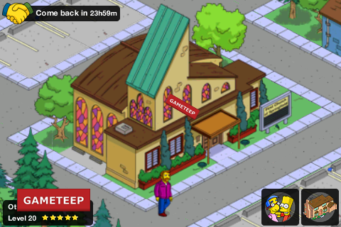 The Simpsons Tapped Out First Church of Springfield