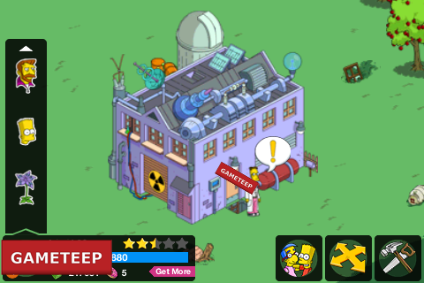 The Simpsons Tapped Out Frinks Lab