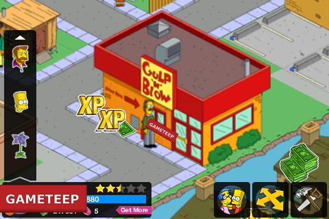 The Simpsons Tapped Out Gulp N Blow