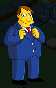 The Simpsons Tapped Out - Mayor Quimby