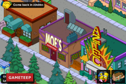 The Simpsons Tapped Out Moes Tavern
