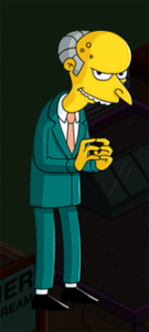 The Simpsons Tapped Out - Mr. Burns
