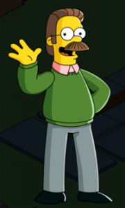 The Simpsons Tapped Out - Ned Flanders