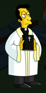 The Simpsons Tapped Out - Rev. Lovejoy