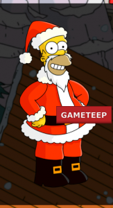 The Simpsons Tapped Out - Santa Homer