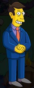 The Simpsons Tapped Out - Skinner