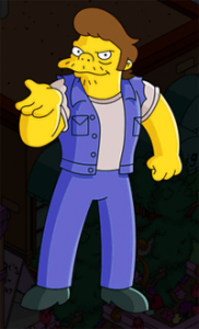 The Simpsons Tapped Out - Snake