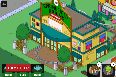 The Simpsons Tapped Out Springfield Downs
