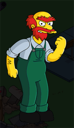 The Simpsons Tapped Out - Willie