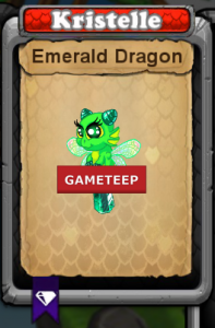 DragonVale - Emerald Dragon Baby