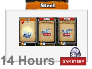 DragonVale - Steel Dragon Levels