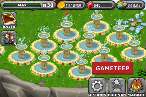 DragonVale - Vernal Fountain