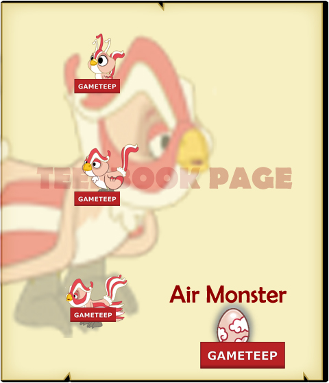 Tiny Monsters - Air Monster