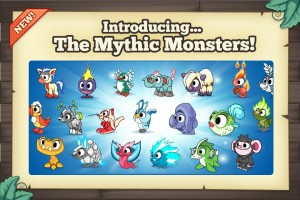 Tiny Monsters All Mythic Monsters