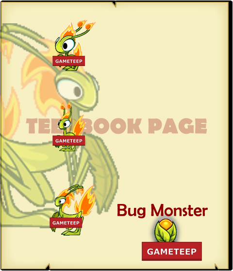 Tiny Monsters - Bug Monster