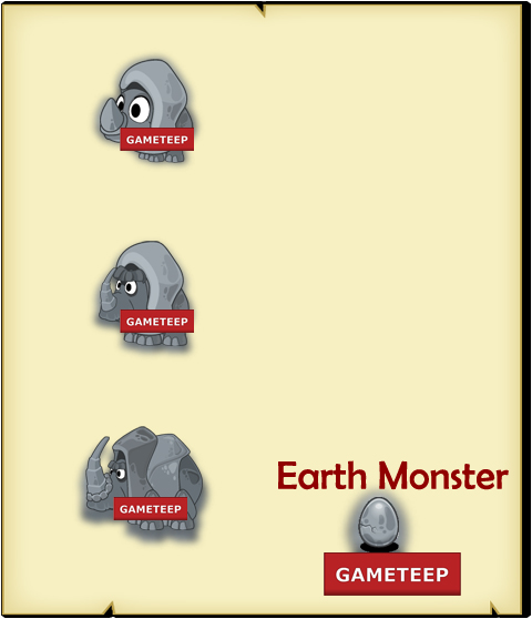 Tiny Monsters - Earth Monster