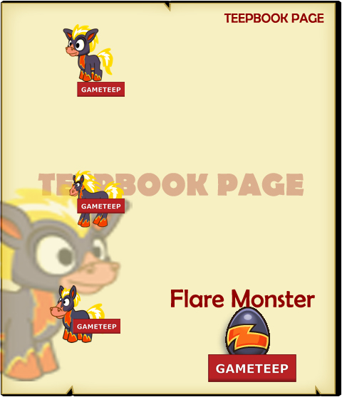 Tiny Monsters - Flare Monster