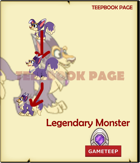 Tiny Monsters - Legendary Monster