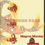 Tiny Monsters: Magma Monster