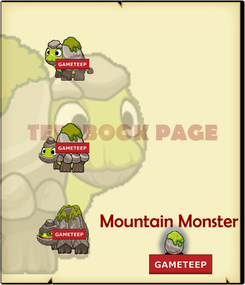 Tiny Monsters - Mountain Monster