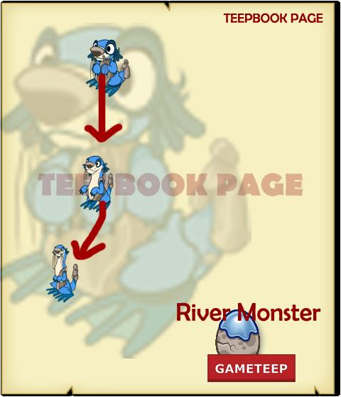 Tiny Monsters - River Monster