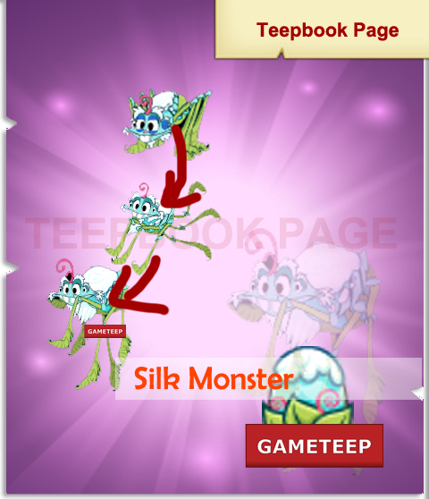 Tiny Monsters - Silk Monster