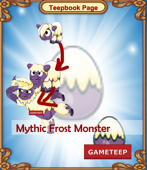 Tiny Monsters Teepbook - Mythic Frost Monster