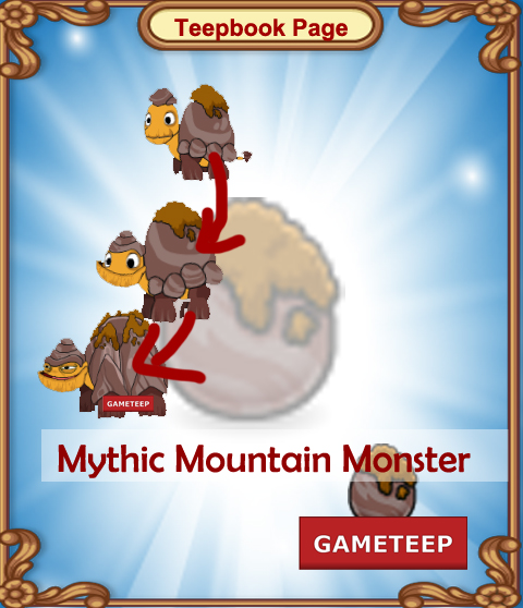 Tiny Monsters Teepbook - Mythic Mountain Monster