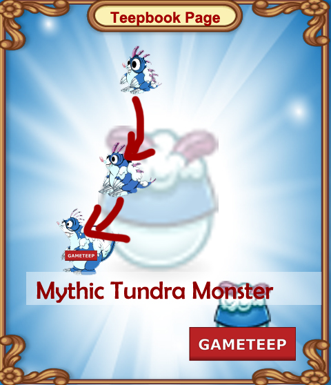 Tiny Monsters: Mythic Tundra Monster | Gameteep