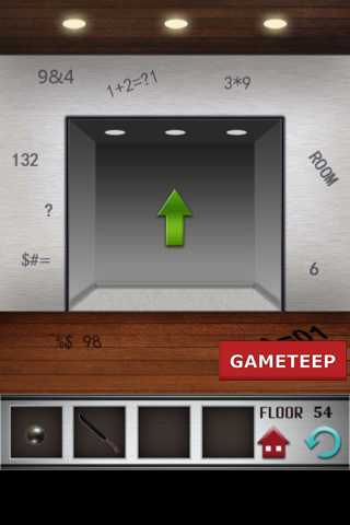 100 floors level 54 gameteep